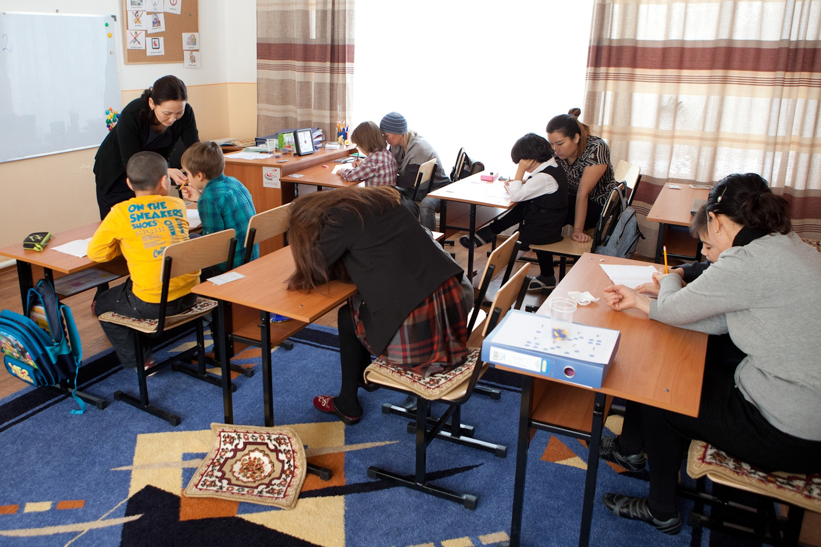 Children with Autism in Kyrgyzstan Gain a Helping Hand