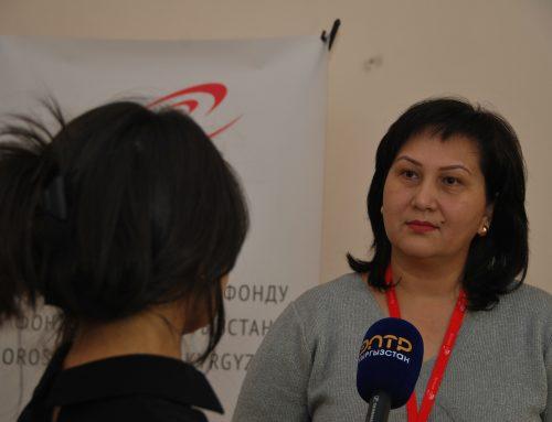 Фонд «Сорос-Кыргызстан» передал ГСБЭП оргтехнику