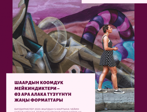 Гранттык сынак: «Шаардын коомдук мейкиндиктери –  өз ара алака түзүүнүн жаңы форматтары»