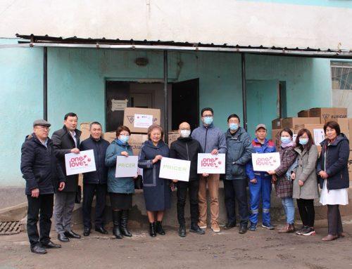 Больницы Иссык-Кульской области получили СИЗы на более 950 тысяч сомов от японского народа