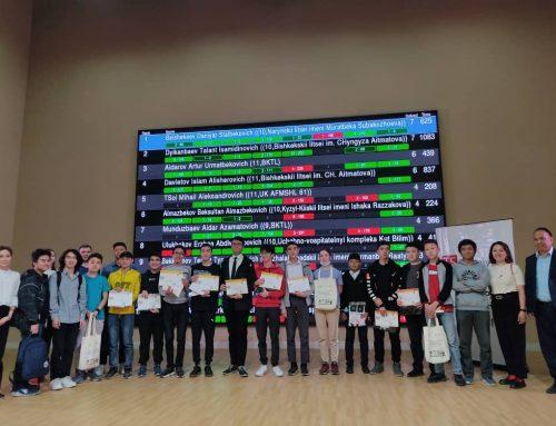 Данияр из Нарына завоевал первое место на IT-кубке Кыргызстана 2021